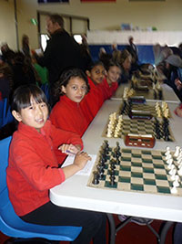 Aranda students are given the opportunity to test their skills at local chess competitions