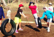 Camp offers an environment for the students to explore their limits.