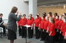 The Aranda Nightingales performing at Port Macquarie