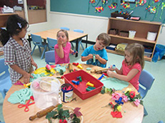 Junior School students to young to compete in the Athletics have their own junior carnival