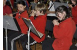 Flute section of the Year 6 Band