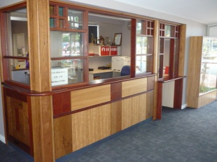 Our Front Office in 2009